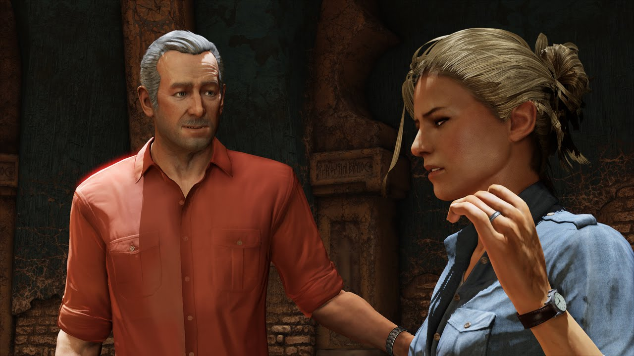 Uncharted 3 Sully Elena Et Geekera