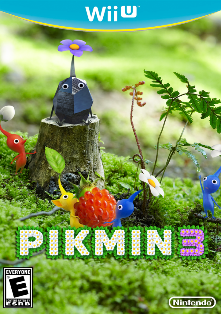 Pikmin 3 Box Art Et Geekera