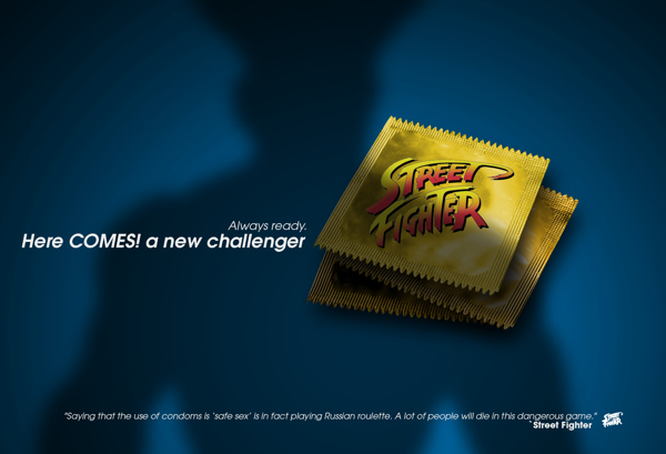 condom-wrapper-street-fighter