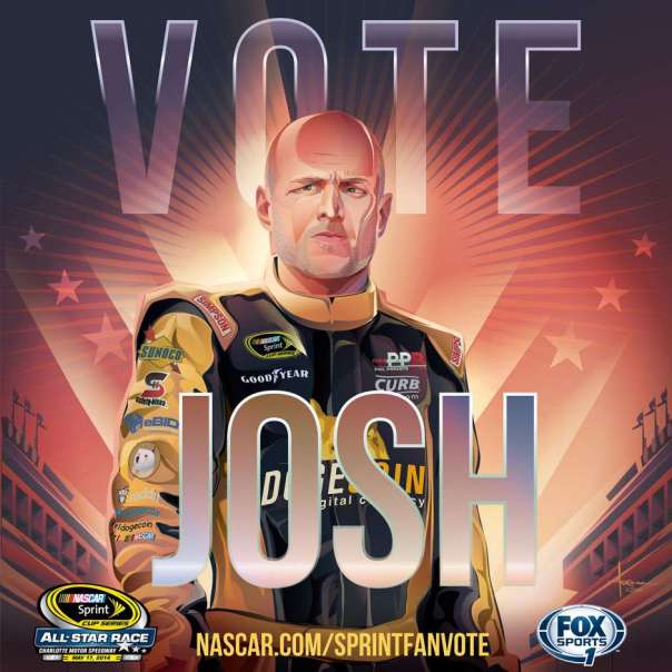 josh-wise-dogecoin-nascar-all-star-race-poster