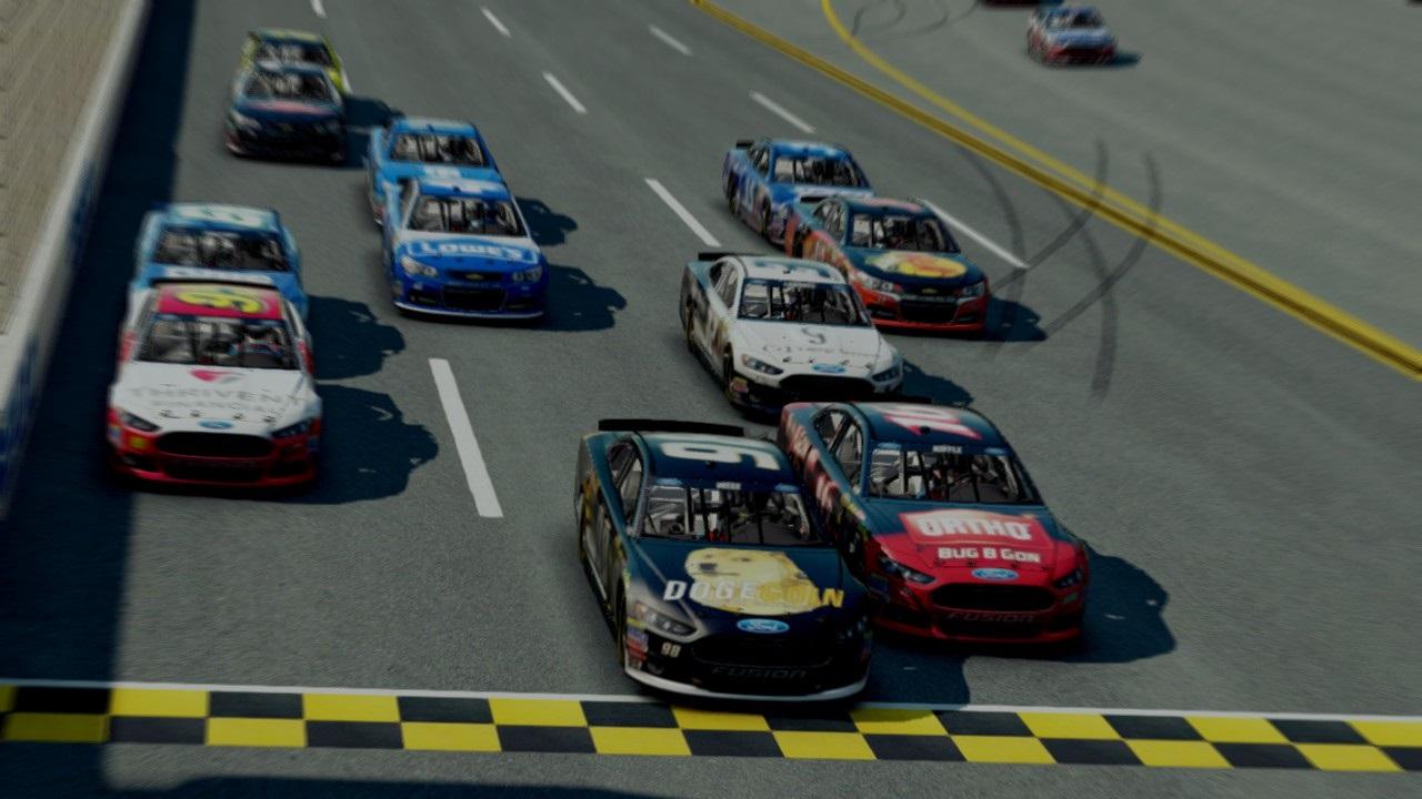 NASCAR '15 Review: Black Flag | et geekera